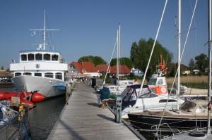 der Hafen in Breege, FEWO Prise 1